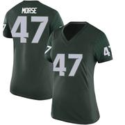 Replica Women's Jackson Morse Michigan State Spartans Green Football College Jersey
